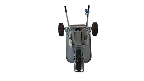 Motorschubkarre Elektroschubkarre E-PowerBarrow Heavy Duty pro 100l lithium - 7
