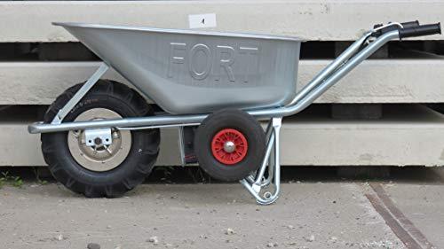 Motorschubkarre Elektroschubkarre E-PowerBarrow Heavy Duty 100l - 8