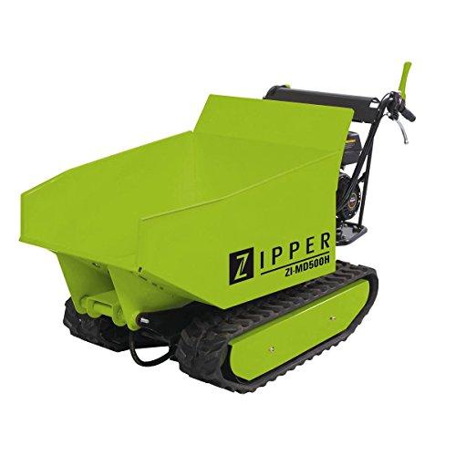 Zipper Mini Dumper ZI-MD500H mit Kipphydraulik, Rampendumper, Motorschubkarre Kapazität bis 500 kg