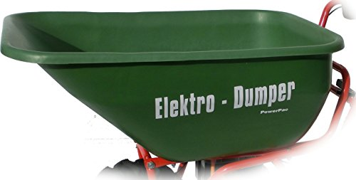 POWERPAC Wanne 180ltr. passend für ED120 - AKKUSCHUBKARRE ELEKTROSCHUBKARRE SCHUBKARRE DUMPER MOTORSCHUBKARRE