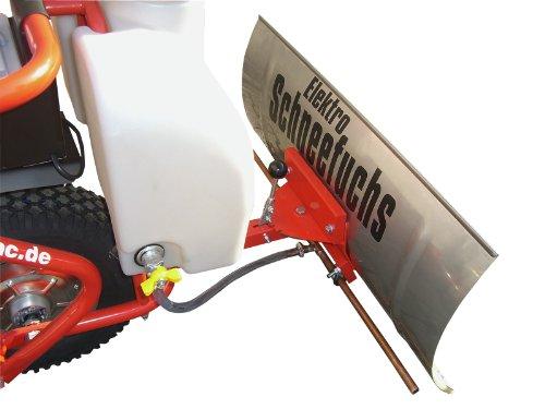 POWERPAC Flüssig Taumittel Behälter 13ltr. und Sprüh Einrichtung passend für Elektro-Schneeräumer ES230 inkl. Adapter - AKKUSCHNEERÄUMER AKKUSCHNEESCHIEBER SCHNEEFRÄSE SCHNEESCHILD