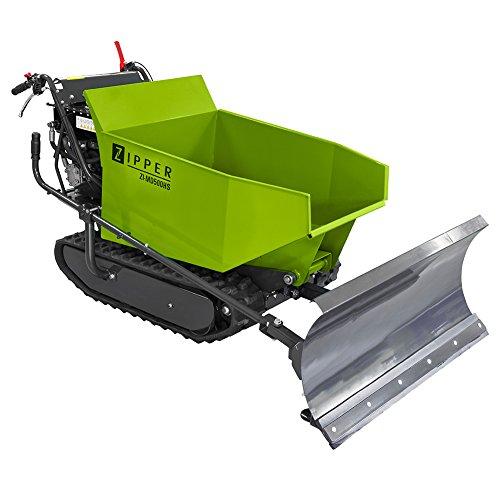 Miniraupendumper 6,8 kW / Ladekapazität 500 kg / Kippfunktion / mit Schneeschild