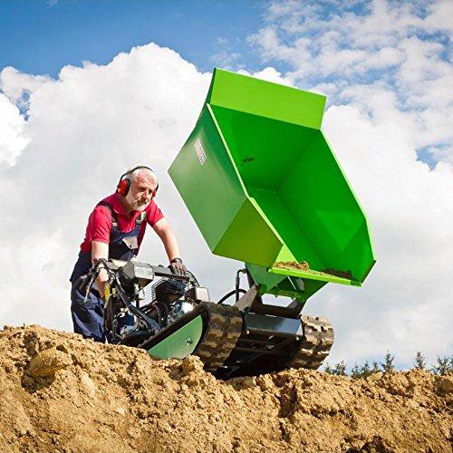 Miniraupendumper 4,8 kW / Ladekapazität 500 kg / Kippfunktion / mit Schneeschild - 3