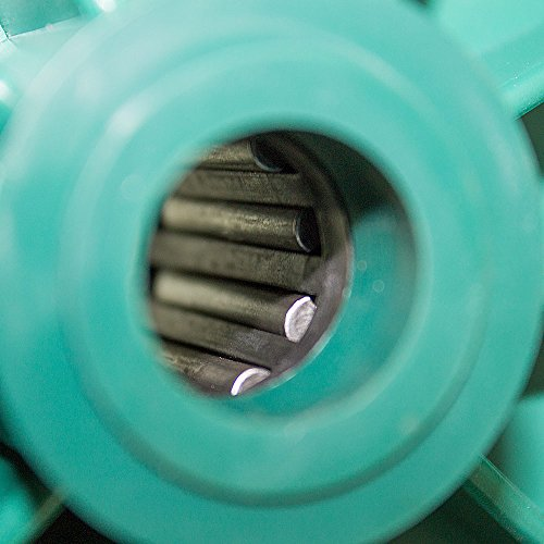 BITUXX® Schubkarre 100L Schubkarren Schiebkarre Bauschubkarre Verzinkt mit Luftreifen bis 250kg - 7